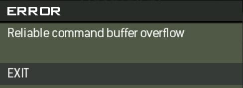 Reliable Command Buffer Overflow
