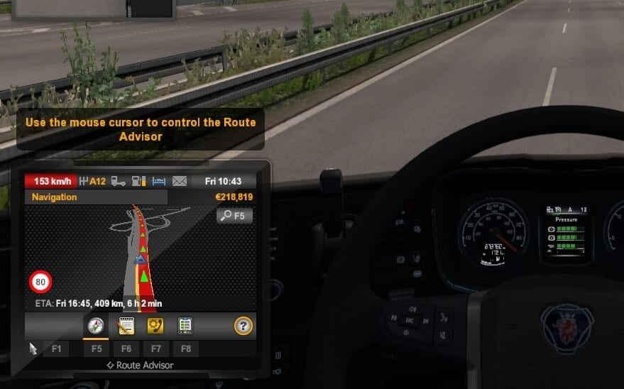 Over speed limit ETS2 Cara Menghapus Speed Limit di Euro Truck Simulator 2 4 Over speed limit ETS2