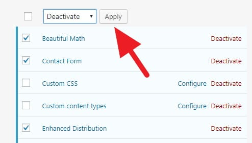 Deactivate Modules - How to Make Jetpack Plugin Faster 3