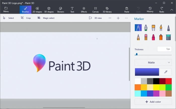 Paint 3D Program - How to Resize Image in Paint 3D Easily 3