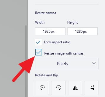 Resize image with canvas - How to Resize Image in Paint 3D Easily 8