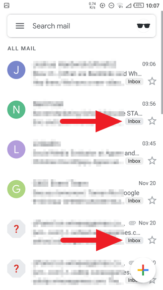 Emails now in - How to Find Archived Emails on Gmail Android 15