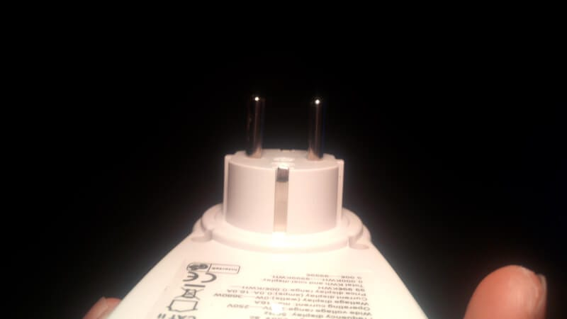 Straightened prongs - How to Fix Bent Plug Prongs Correctly 9