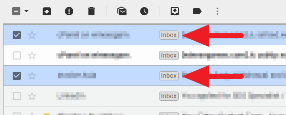 marked as - How to Quickly Find Archived Emails on Gmail PC 13