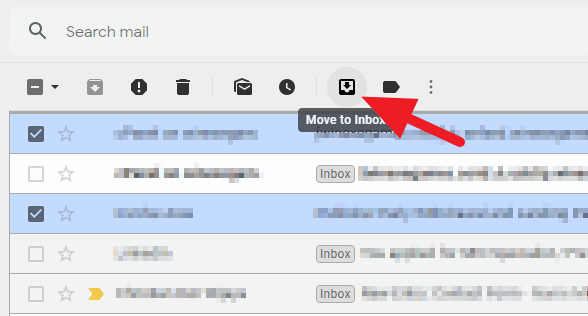 move to - How to Quickly Find Archived Emails on Gmail PC 11