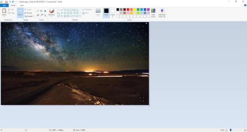 Base image Paint - How to Insert Multiple Images in Microsoft Paint 19