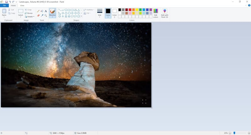 Image in Paint - How to Insert Multiple Images in Microsoft Paint 9