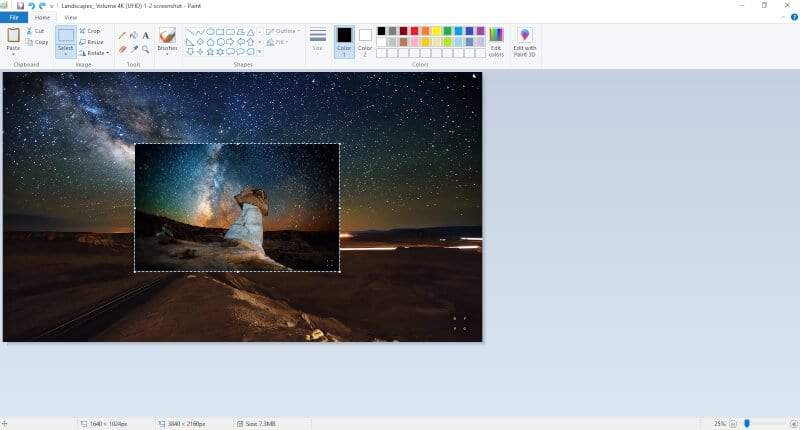 Multiple images in Paint - How to Insert Multiple Images in Microsoft Paint 23