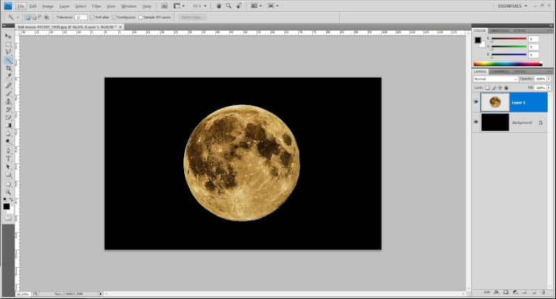 Photo in Photoshop - How to Make Something Glow in Photoshop 5