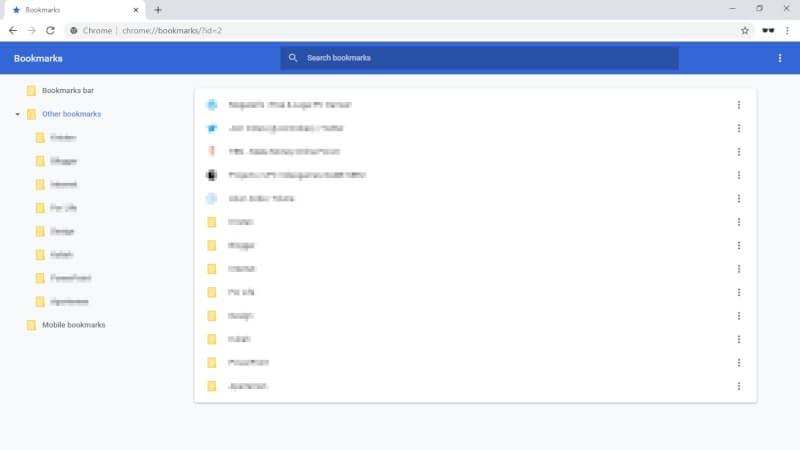 bookmarks imported - How to Export Chrome Bookmarks to a Flash Drive 21