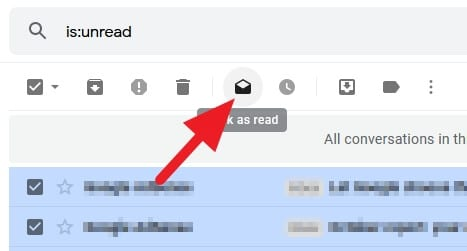 mark as read - How to Mark All Unread Emails as Read in Gmail Instantly 3