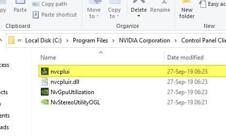 nvcplui - How to Open Missing NVIDIA Control Panel Without Reinstall Driver 7