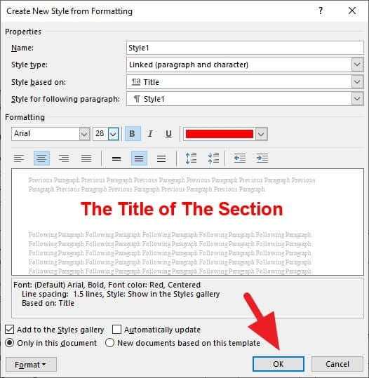 OK - How to Quickly Add Heading in Microsoft Word 23