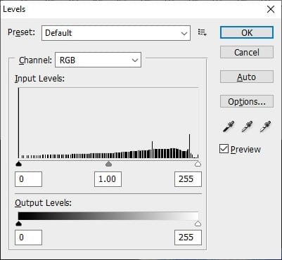 adjust the level - How to Quickly Invert Colors in Photoshop 13
