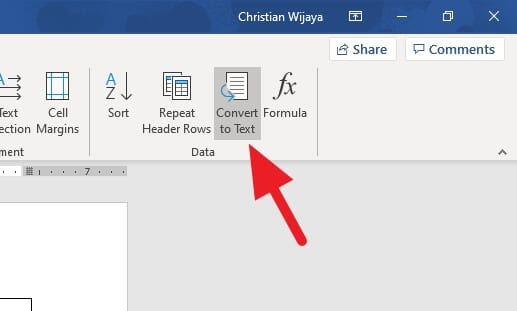convert to - How to Remove Table without Deleting Text in Microsoft Word 9