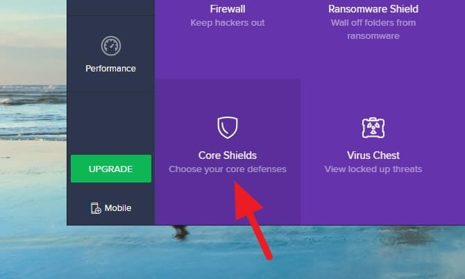 core shields - How to Stop Avast From Blocking Websites 9