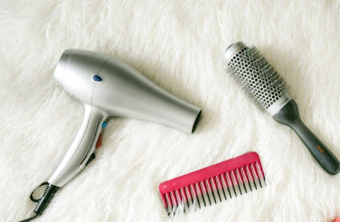 grey hair blower near pink hair combs and scrunchies 973402 - 4 Methods to Clean PC Dust Without Compressed Air 11