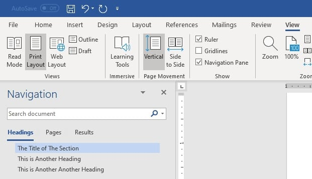 heading map - How to Quickly Add Heading in Microsoft Word 15