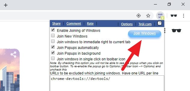 join windows - How to Merge Two Chrome Windows with Multiple Tabs 15