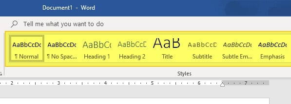 select heading - How to Quickly Add Heading in Microsoft Word 9