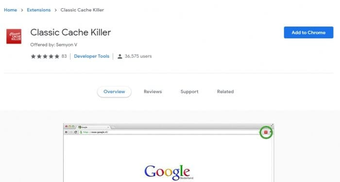 Classic Cache Killer 1 - How to Prevent Chrome PC from Storing Cache 5
