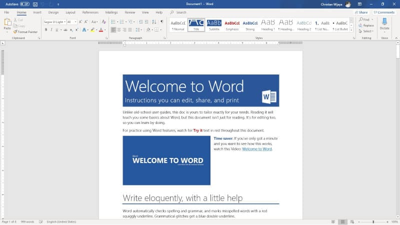 Microsoft Word - How to See How Many Characters in a Ms. Word Document 5