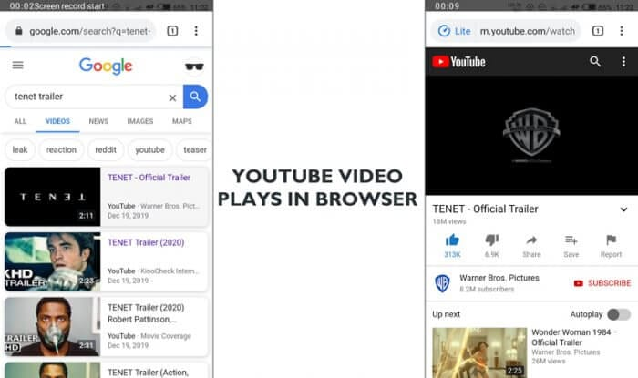 No Youtube app - Prevent Youtube App from Opening When Click Youtube Link 3