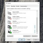 How to Access Windows 10 Legacy Sound Settings