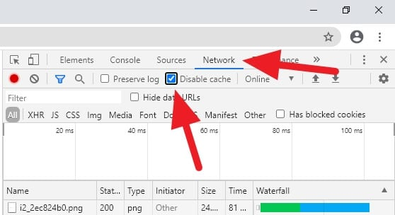 network disable cache - How to Prevent Chrome PC from Storing Cache 11