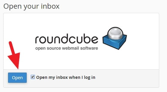 open roundcube - How to Create Email Accounts With Your Domain in cPanel 15