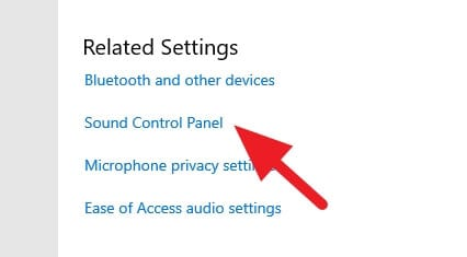 sound control panel - How to Access Windows 10 Legacy Sound Settings 7