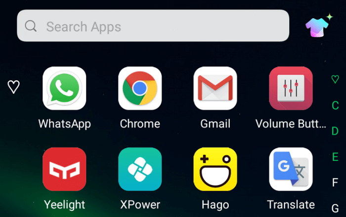 Application recommendation removed - Remove Application Recommendation Ads in Infinix XOS Launcher 11