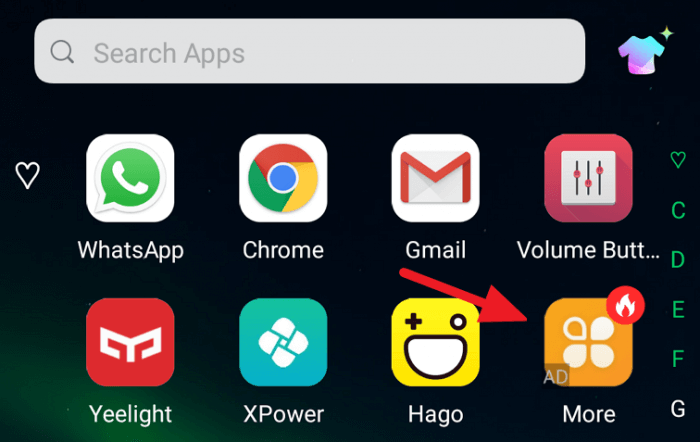 Remove Application Recommendation Ads in Infinix XOS Launcher - Remove Application Recommendation Ads in Infinix XOS Launcher 3