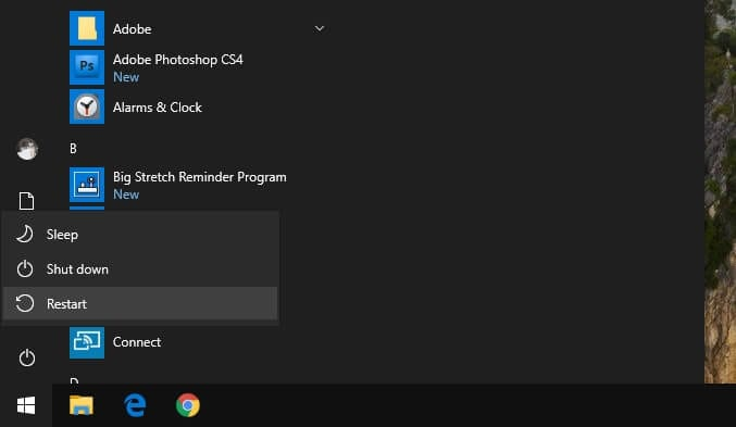Restart PC - How to Show FPS on When Playing Game on Windows 10 9