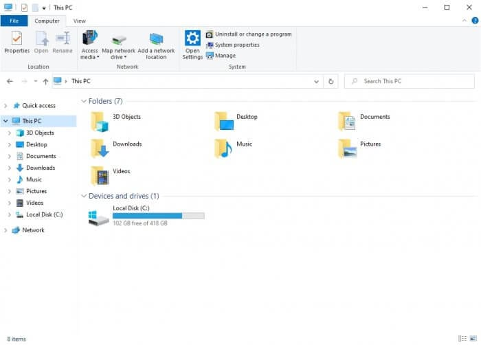 This PC 1 - How to Enable Preview Pane on Windows 10 3
