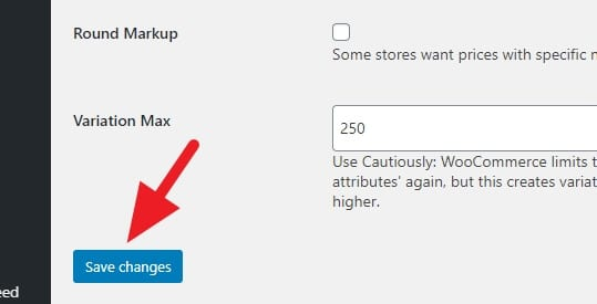 Variation - Increase Variations More Than 50/Run on WooCommerce 9