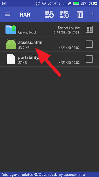 access - How to See When Your WhatsApp Account Was Created 25