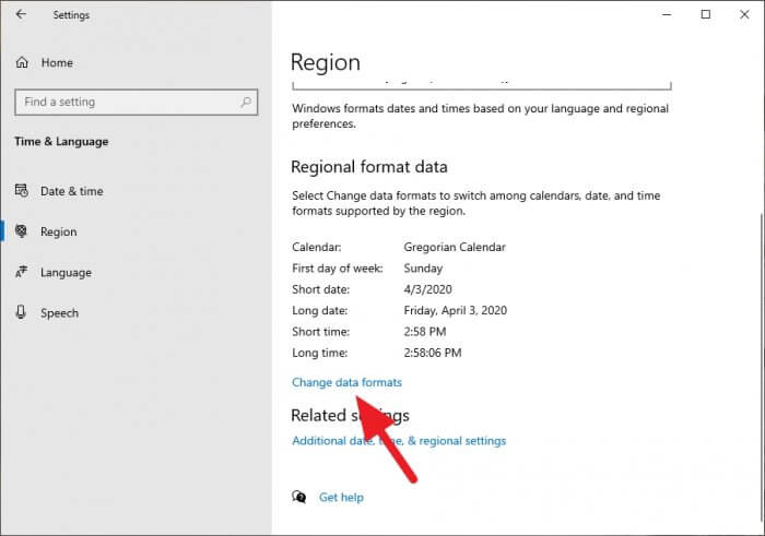 change data formats - How to Switch Windows 10 Clock Format to 24-Hour 9