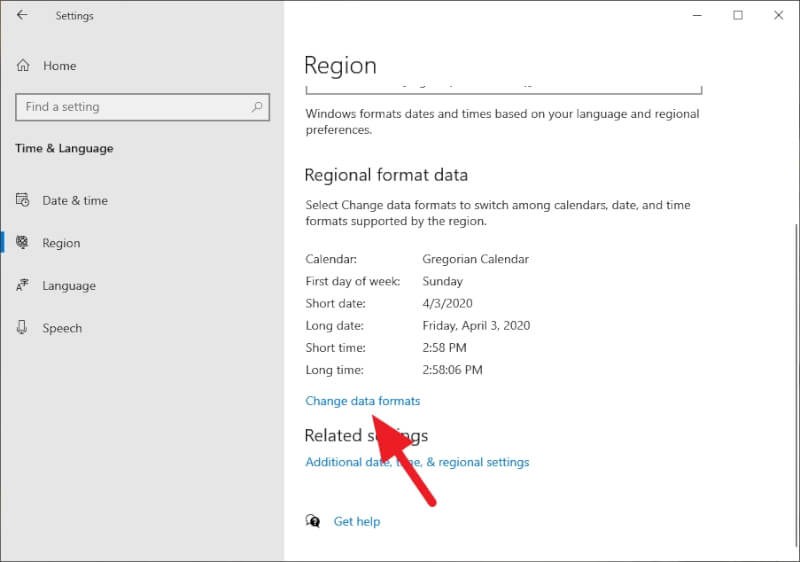 change data formats - How to Change Windows 10 Clock Format to 24-Hour 9