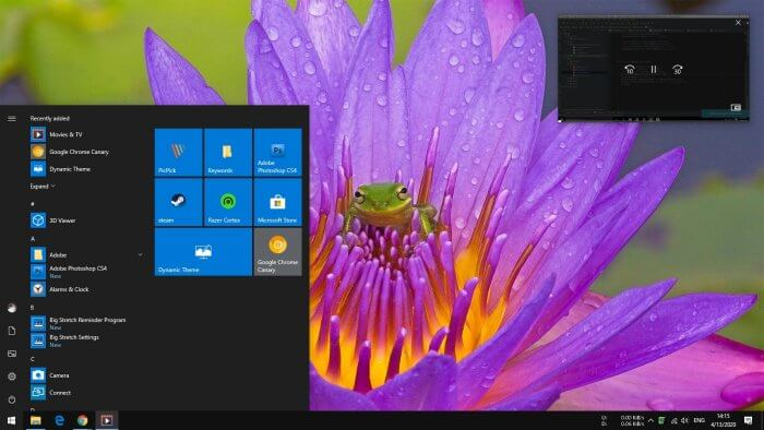 mini view - How to Watch Video While Using Other Apps in Windows 10 7