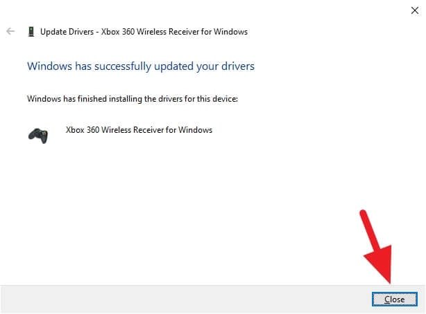 windows has successfully updated your drivers - How to Fix Logitech F710 Can't Connect to Windows 10 19