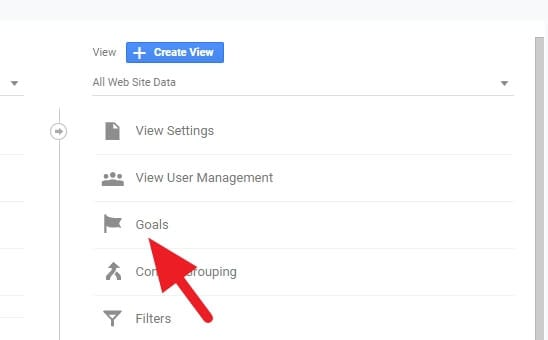 Goals - How to Add a New Goal on Google Analytics 3