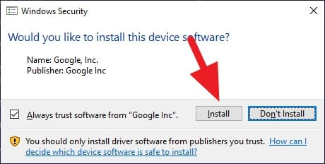 Install Google - How to Restart Android Without Power Button 17