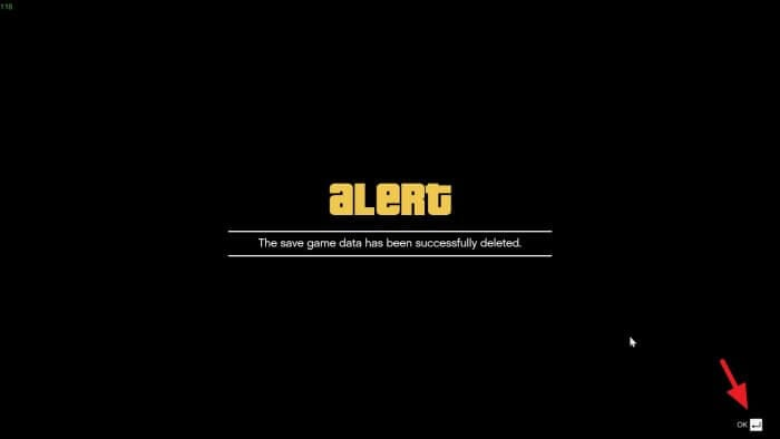 OK done - How to Delete Save Game Data on GTA V 13