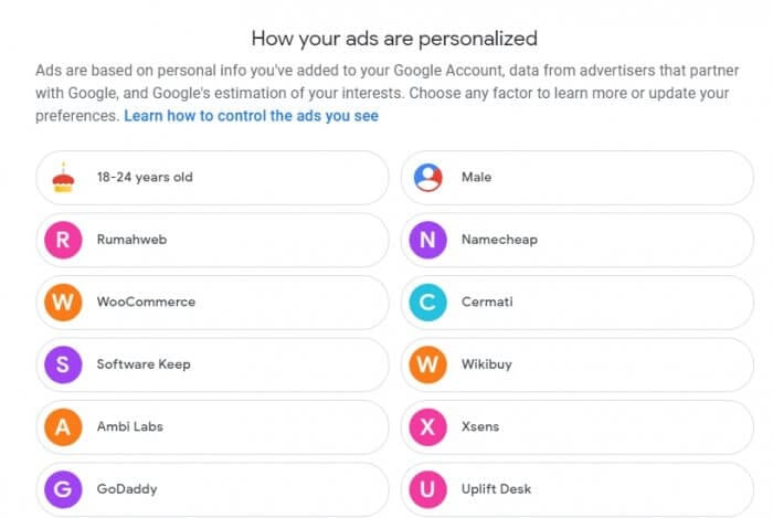 ads - How to Make Google Advertisements Relevant to You 7