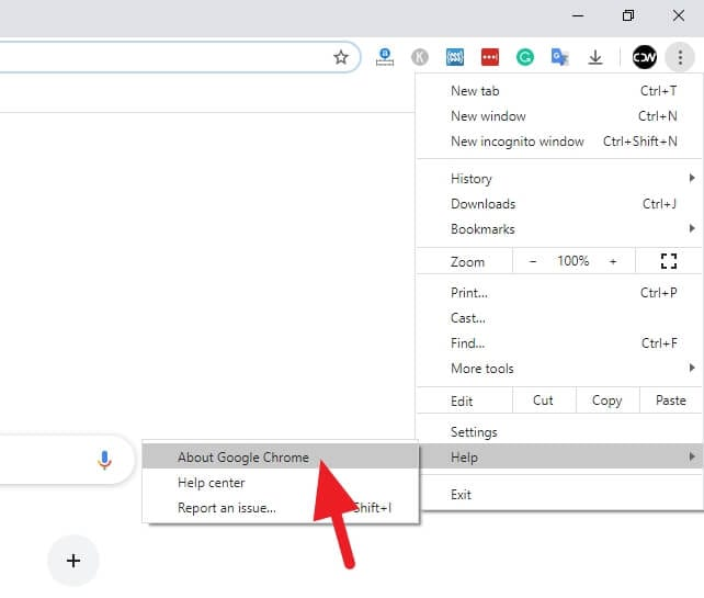 About Google Chrome - How to Update Google Chrome Desktop Instantly 5