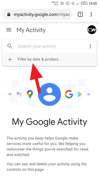 Google My Activity - 3 Ways to Sort Chrome History by Date 5