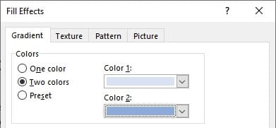 Two colors - How to Change Background Color on Microsoft Word 19