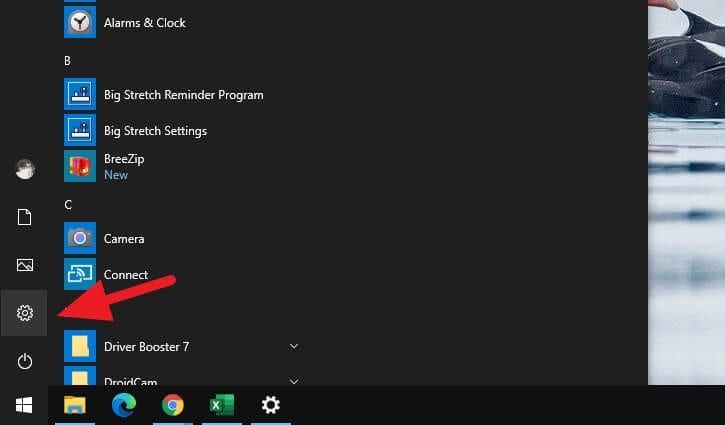 Windows Settings 4 - How to Show Missing Time and Date in Taskbar on Windows 10 5