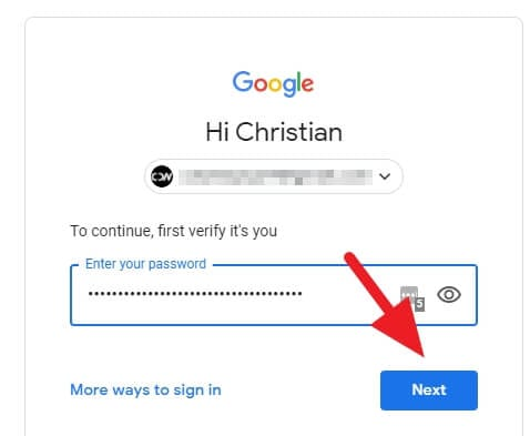 Login to Google - How to Delete Youtube Channel Without the Main Account 11